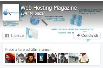 Web Hosting Magazine su Facebook