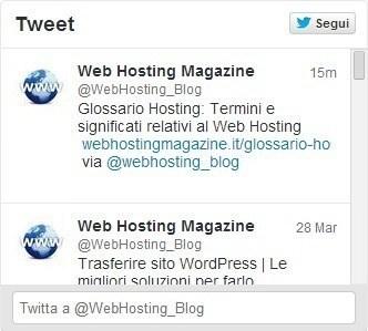 Web Hosting Magazine su Twitter