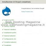 Guida installazione Drupal 7.10 in Italiano