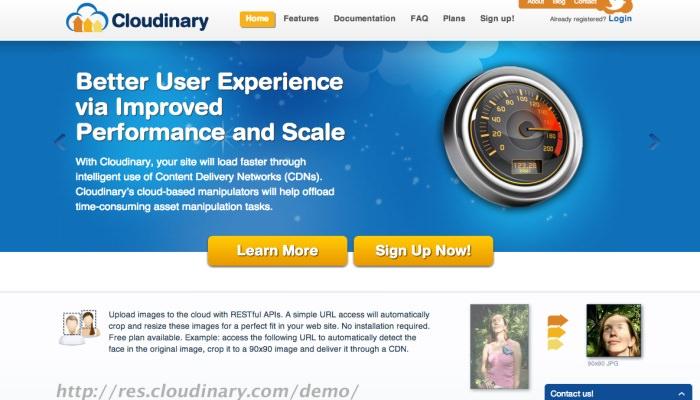 Cloudinary, CDN gratis per le immagini