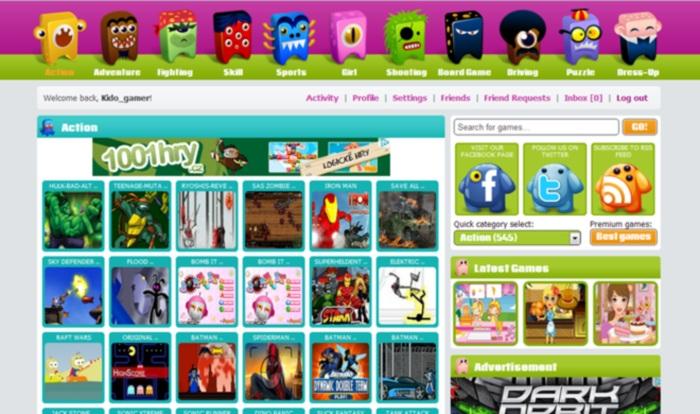 Creare un sito di giochi con MyArcadePlugin