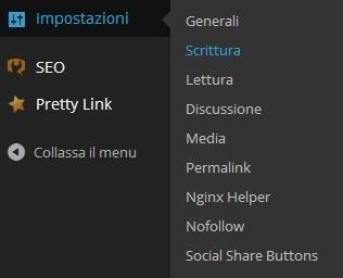 Velocizzare Indicizzazione WordPress - Le Impostazioni