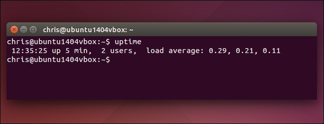 Load Average linux