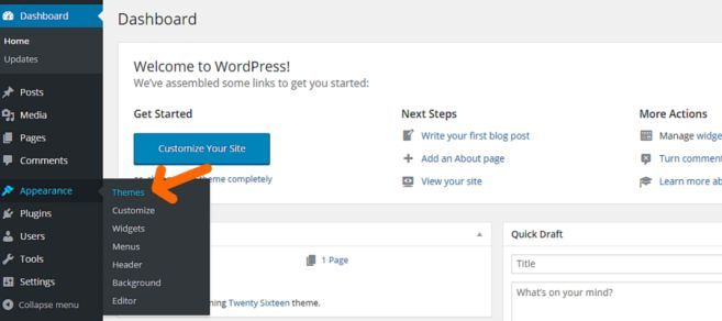 cambiare-tema-su-wordpress