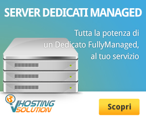 Server dedicati managed di VHosting Solution